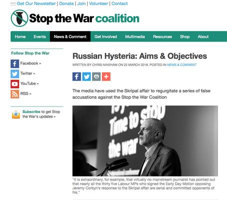 Stop The War 22.3.18