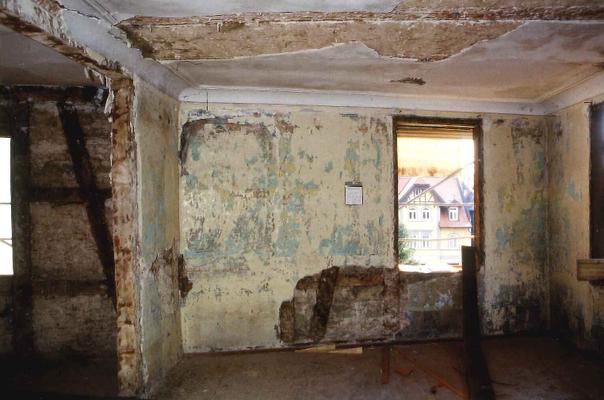 Alte Post vor der Sanierung