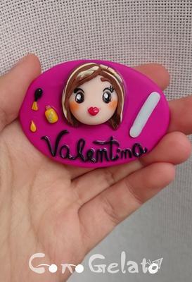 Spilla da onicotecnica 'Valentina', 6x4 cm 💅🏼 la lima brilla ed è ruvida! - 13*