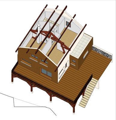 Conception et Plans de  Maison individuelle à Hurtières