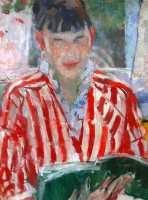 Rik Wouters: Woman reading