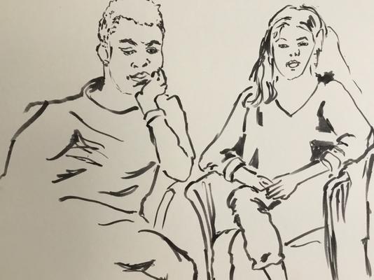 Timon und Anaïs von Cristina