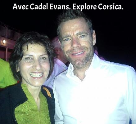 Avec Cadel Evans - Explore Corsica