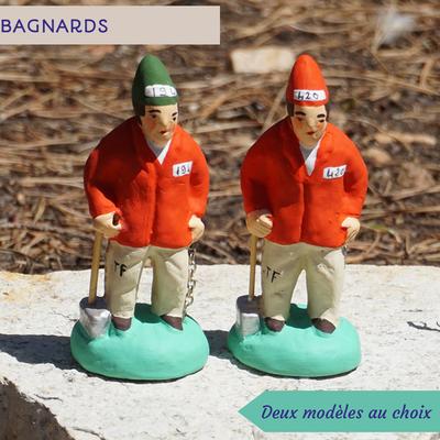 bagnards - 2 modèles au choix (numéros aléatoires)