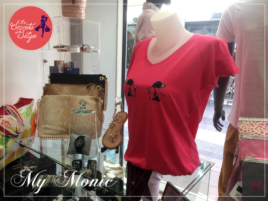 mymonic.com #sitges #tshirts #exclusivo #camisetasconswarovski  #moda #mujer #swarovski #camisetaspersonalizadas #barcelona #lessecretsdesitges #camisetasdemujer  #camisetasdemangacorta #tiendaonline #glamour #style #shopping #red #followme #elegance