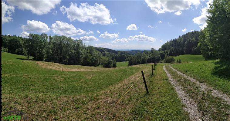 Eine atemberaubende Landschaft auf unserer Tour mit dem BH Atom X.