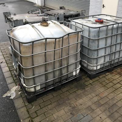 Lagerung Gefahrstoffe in IBC Behälter