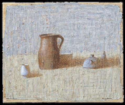 『茶色のピッシェ』(2008年/65x54cm/油彩)