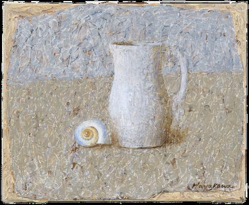 『ミルク差し』(2007年/27x22cm/油彩)