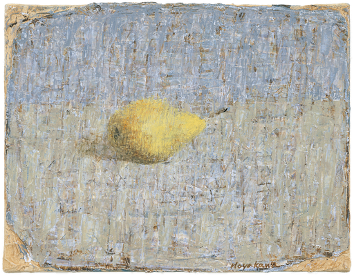 『梨』(2008年/35x27cm/油彩)