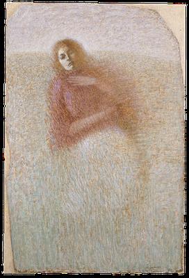 『風景へ–2(Josette)』(2007-08年/195x130cm/油彩)