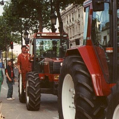 Fiat Winner die Große Ernte Frankreich