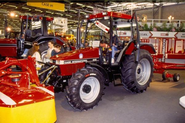 Case IH 844 und 1455 Agritechnica