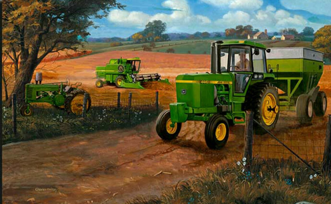 John Deere Cartoon