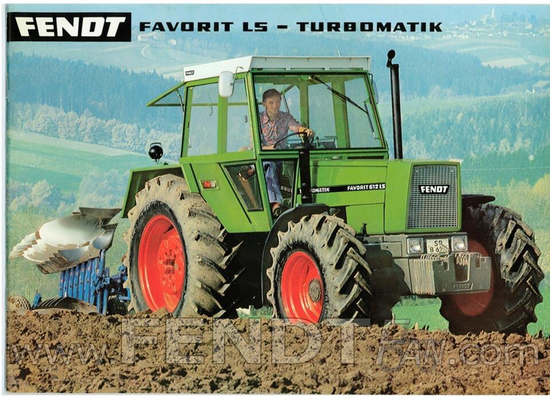 Fendt Favorit Traktor (Quelle: Fendt)