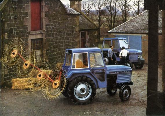 Nuffield Leyland Traktor