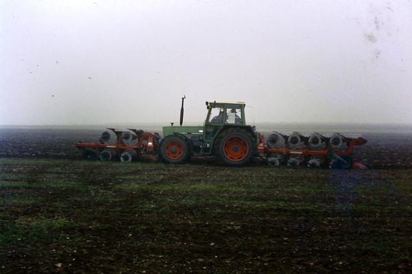 Fendt Farmer Pflügen