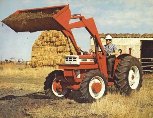White Fiat Tractor