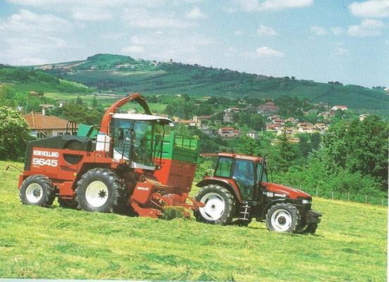 Fiatagri New Holland 9645 und M100