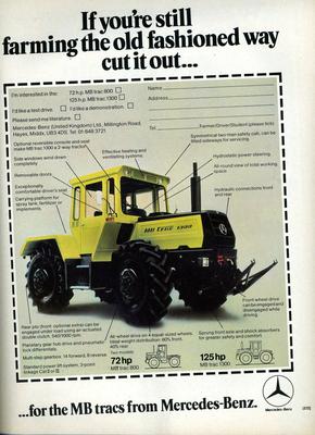 MB trac 1500