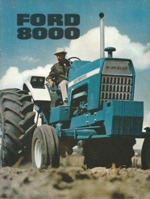 Ford 8000 Traktor
