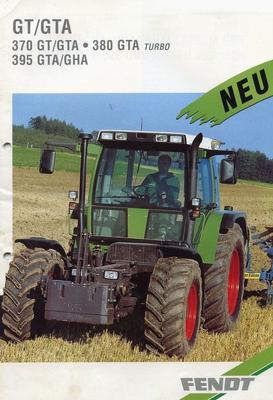 Fendt GTA 395