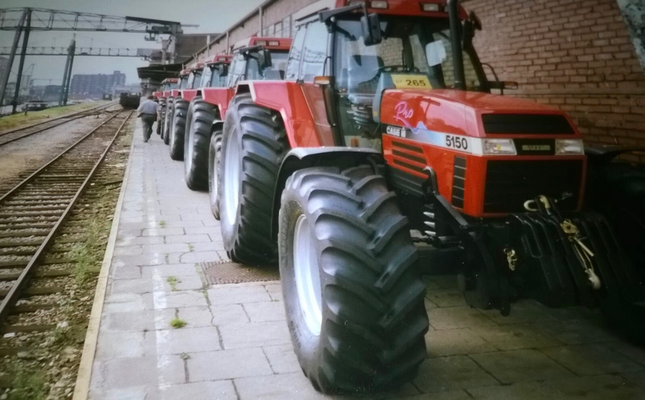 Case IH Maxxum 5150 in Neuss