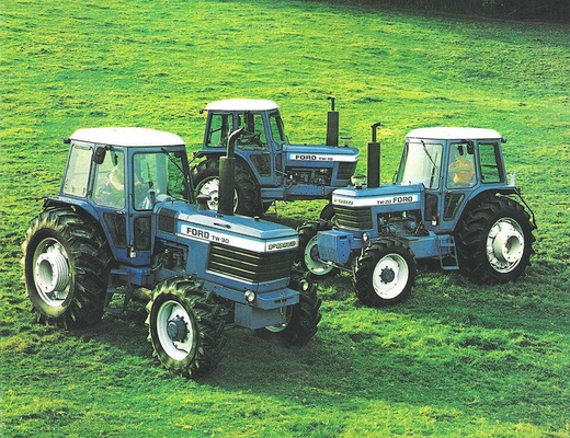 Ford Traktoren TW Baureihe