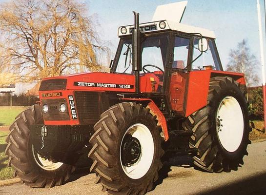 Zetor Master 14145 Turbo