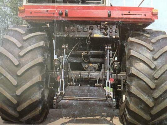 Steyr 8320 Fronthydraulik