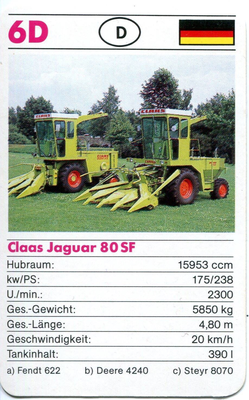 Claas Jaguar 60 SF