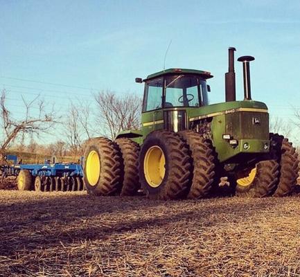 John Deere Traktor Knicklenker