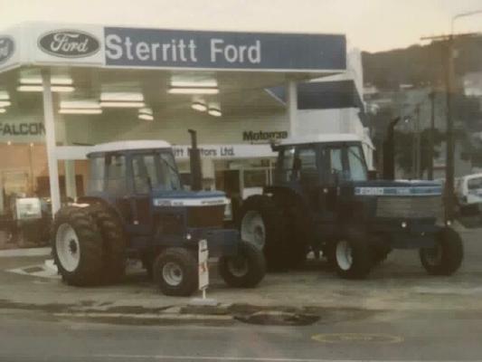 Ford Traktor Neuseeland