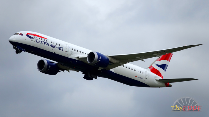 British Airways Boeing 787-9 G-ZBKJ