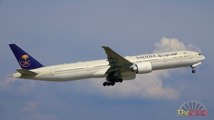 Saudia Airlines Boeing 777-300ER HZ-AK36
