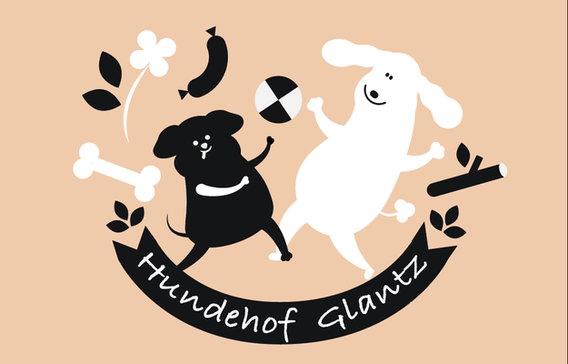 Illustration Visitenkarte, Hundesitting, © Studio Käfig