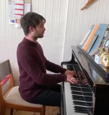 David Strongin, Klavierlehrer und Geigenlehrer in Prenzlauer Berg