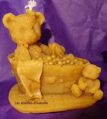 ours dans le bain - 1737