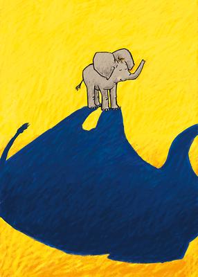 aus: »Der Kleine Elefant« | Buch in Arbeit