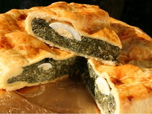 Pascualina tarte spécialité