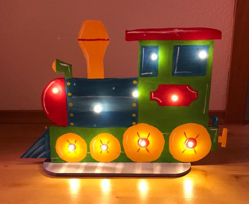 Lokomotive Lampe
