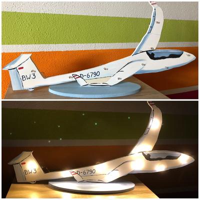 Lampe Segelflieger
