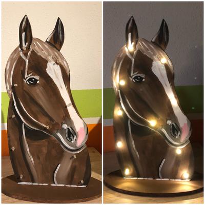 Schlummerlicht Pferd 2