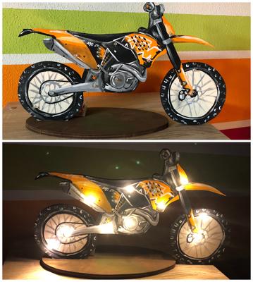 Motocross Lampe