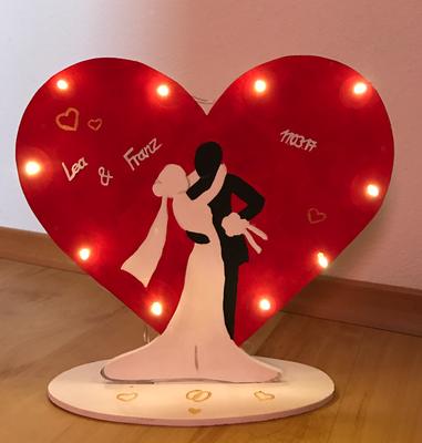 Lampe Hochzeit 1