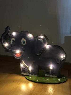 Schlummerlicht Elefant