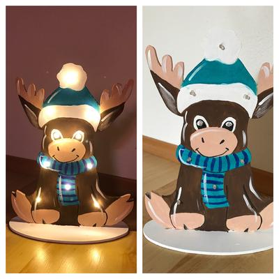 Elch Lampe