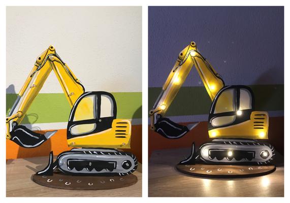 Kinder Baggerlampe