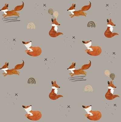 Lass fliegen Fuchs Taupe