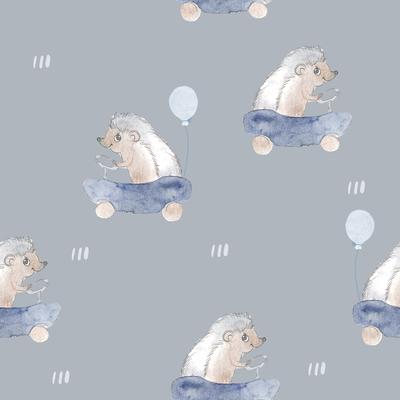 Igelrennen Blau